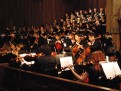 Choral Union and Handbell ensembles perform