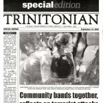 From the Archives: <i>The Trinitonian</i> covers 9/11