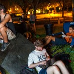 Photo Gallery: The Greeks camp out at the magic stones