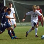 Men&#8217;s soccer wins opening conference matches