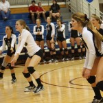 Volleyball wins first conference matches