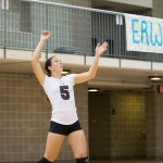 Volleyball earns win in home tournament