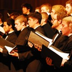 Trinity vocal ensembles raise their voices in song