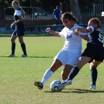 Women&#8217;s soccer scores high