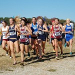 Cross country teams make school history
