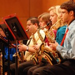 Jazz Ensemble brings the heat