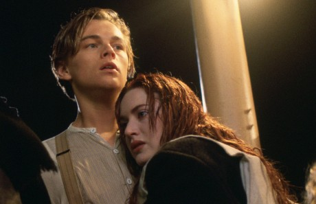 Leonardo DiCaprio and Kate Winslet star in James Cameron's &quot;Titanic.&quot; Photo courtesy of Twentieth Century Fox.