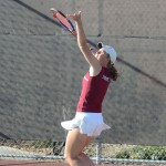 Women's tennis fights back from spring break losses