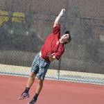Men's tennis finish regular season with road trip