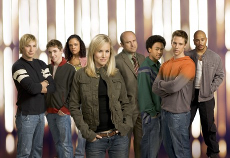 "The cast of ""Veronica Mars."" Image courtesy of Warner Bros."