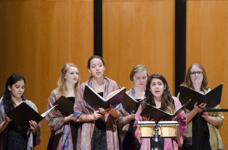 Spring Choir Concert. Photo by Eva Littman.