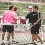 Men's tennis finish their regular season with shutouts over UT-Dallas and Colorado College