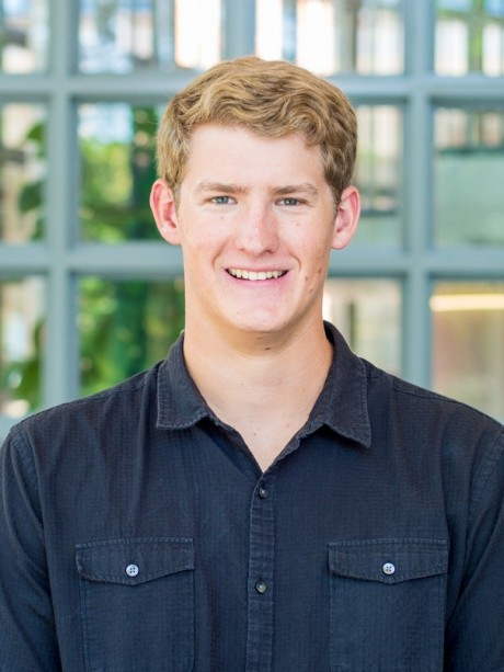 Sophomore Robert Hure. Photo taken by Miguel Webber