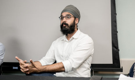SIMRAN JEET SINGH responds to a comment made during a Prejudice Panel in October 2015.