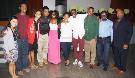 Trinity BSU at Sam Houston with Dr. Lawrence Scott