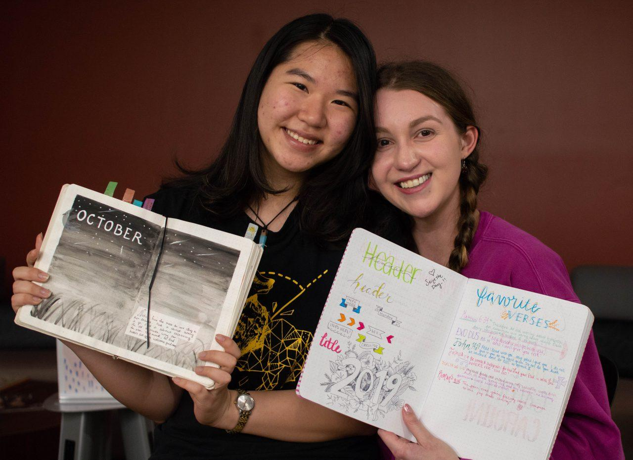 Thao Dinh (L) and Caroline Wall (R)